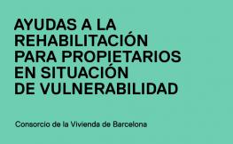 Ayudas rehabilitación propietarios en situación de vulnerabilidad CHB