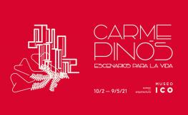 La imatge promocional de l'exposició sobre Pinós al Museu ICO de Madrid