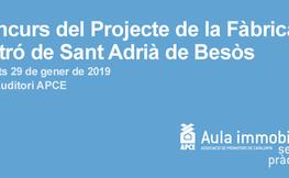 Concurs del projecte de la fàbrica de cartró de Sant Adrià de Besòs.