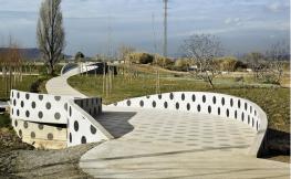 Parque entre Barcelona y Esplugues de Llobregat