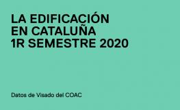 Edificación en Cataluña 1r semestre 2020