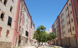 Una imatge d'arxiu dels habitatges del barri de Merinals