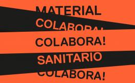 colabora en la producción de material sanitario