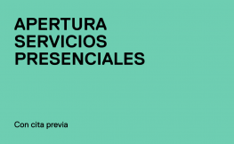 apertura servicios presenciales