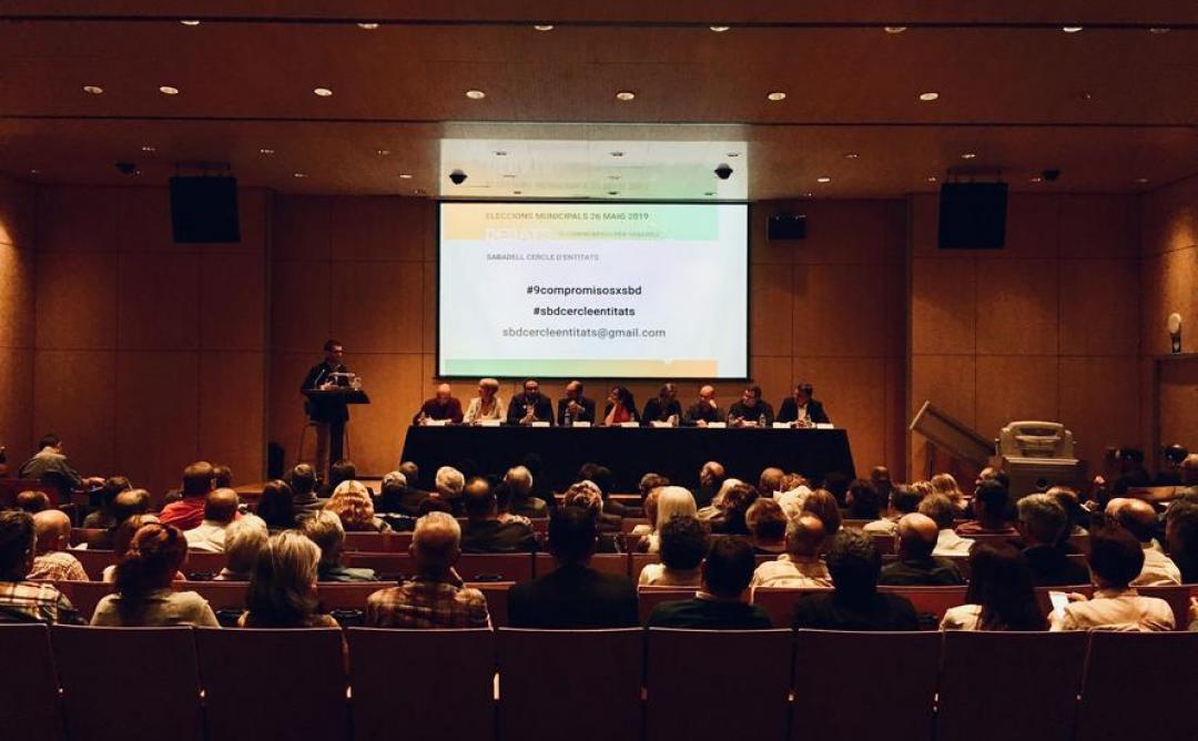 Debat Urbanístic a Sabadell