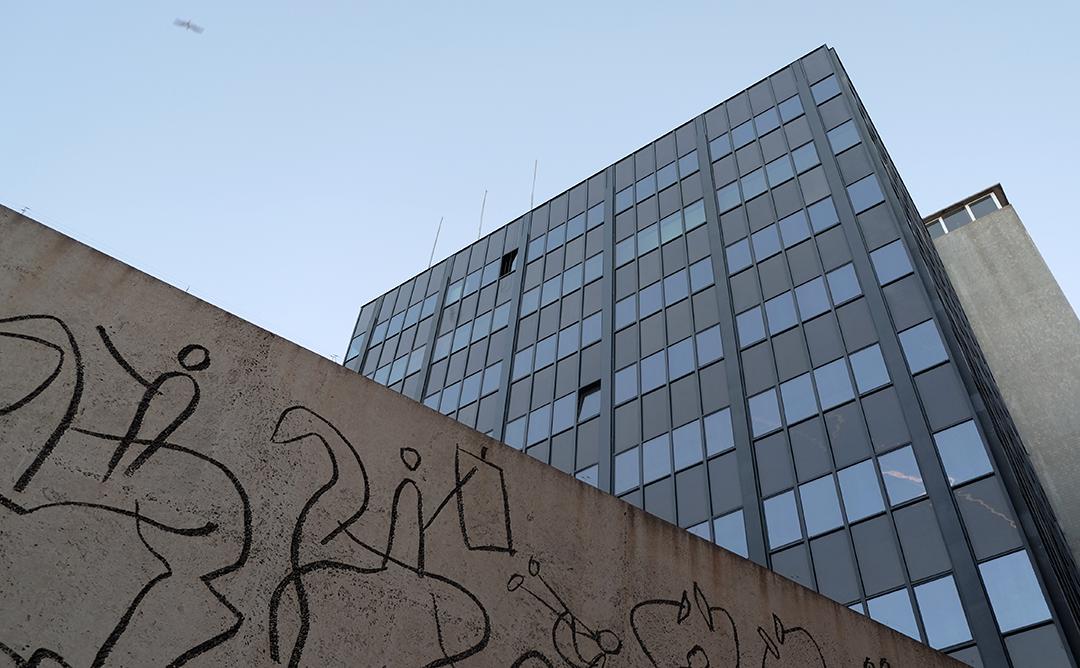 Façana del COAC Barcelona.