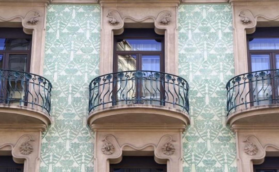 Jornades europees de Patrimoni 2014, els esgrafiats modernistes de Barcelona