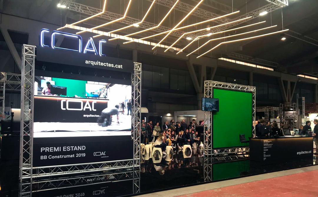 COAC guanya premi estand Construmat