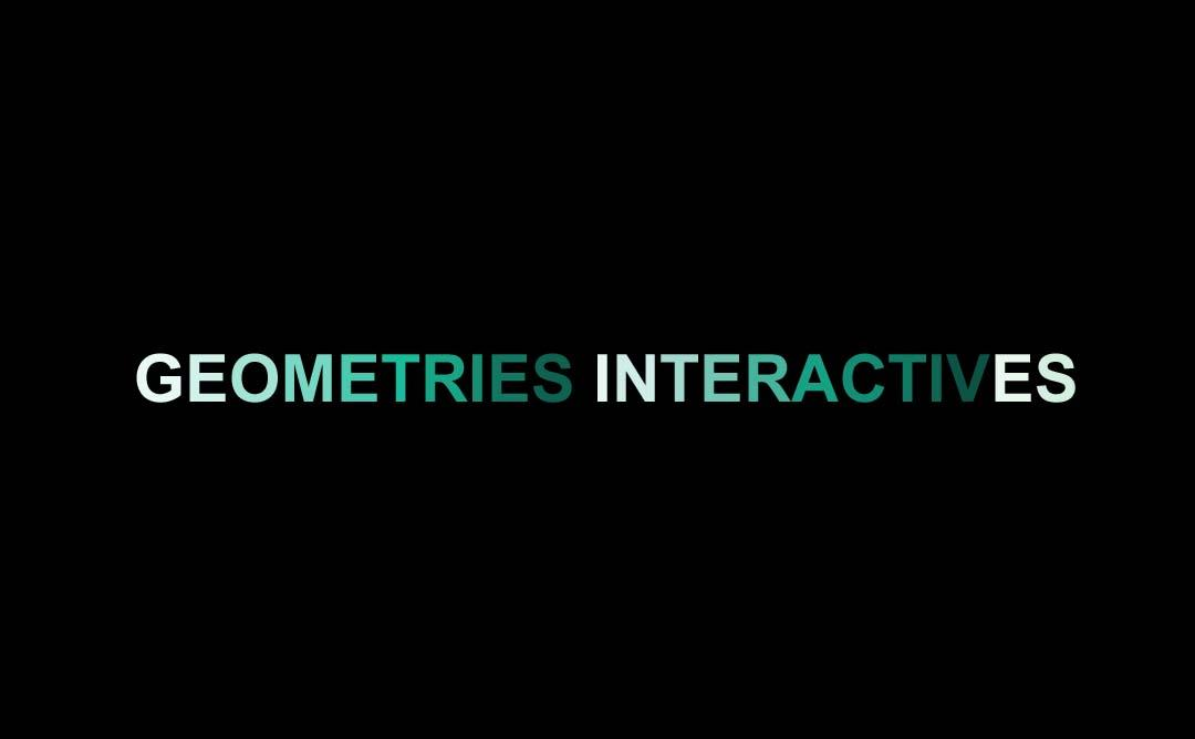 Geometries interactives