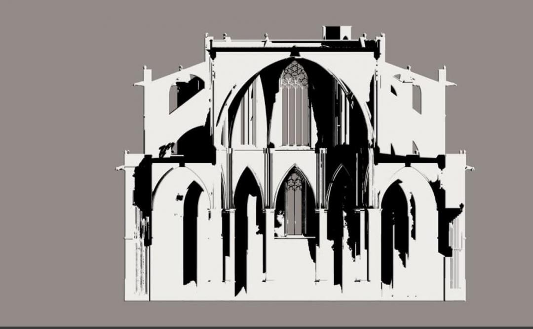 dibuix catedral