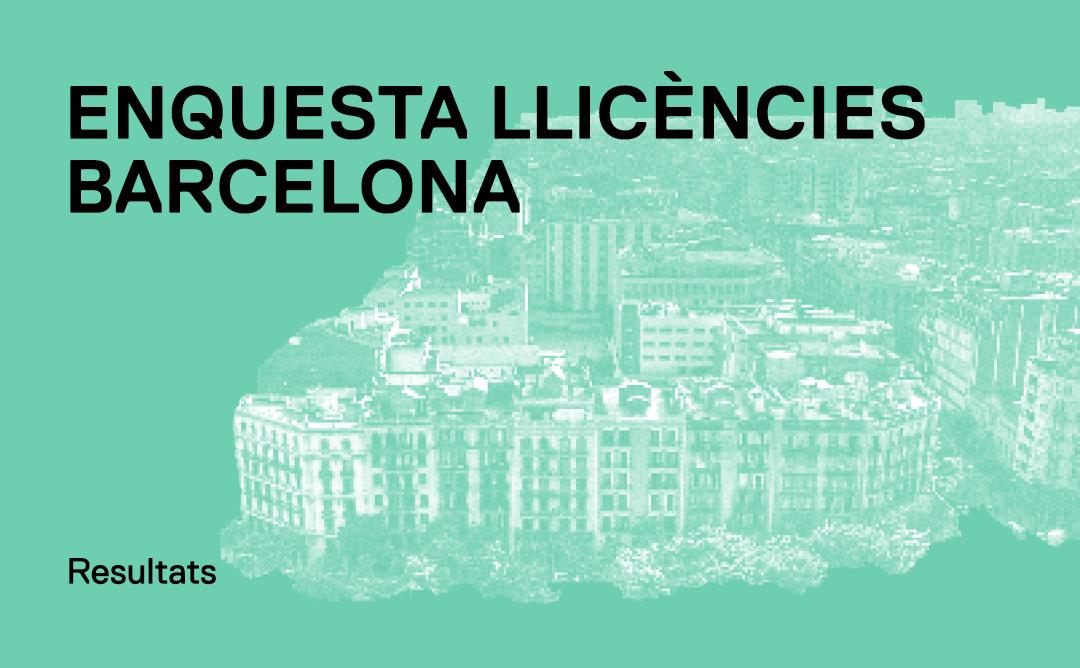 Enquesta llicències Barcelona