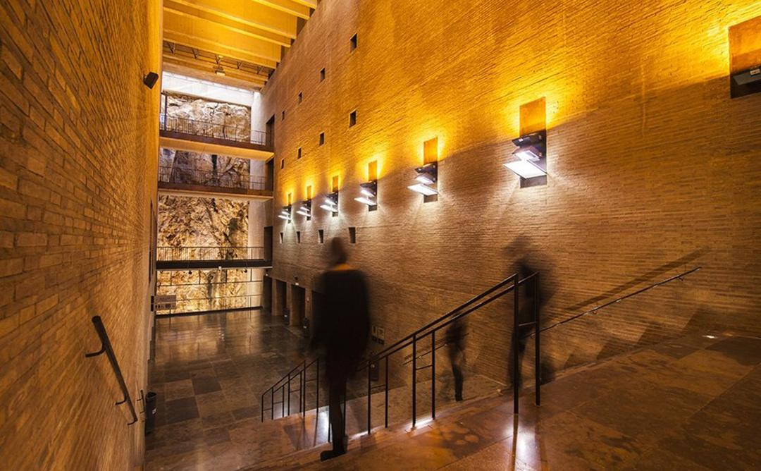 Interior del Palau de Congresos de Tarragona.