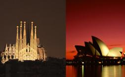 Sagrada Familia vs Opera House