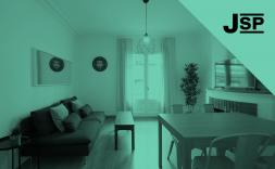 Interior d'un menjador (sala d'estar)