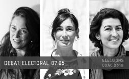 7 de maig: debat electoral amb les caps de llista a la Demarcació de Barcelona