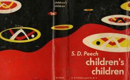 Portada del llibre Childre'ns children de S.D. Peech